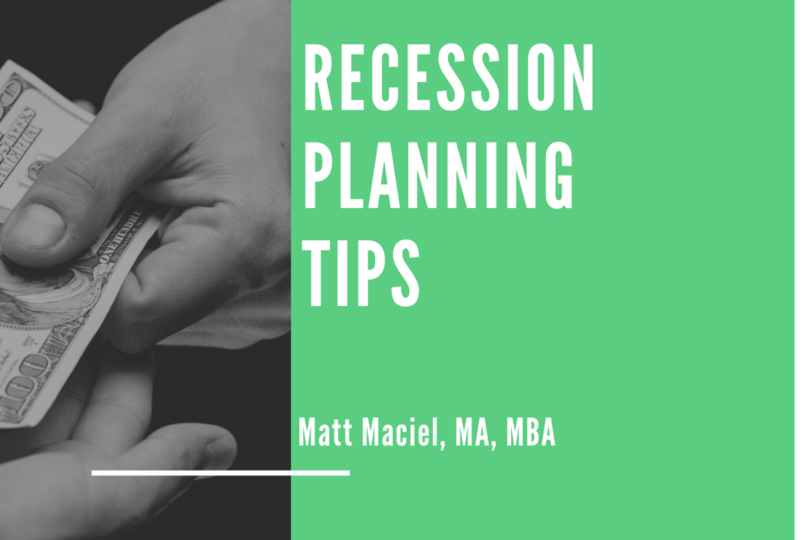 Recession Planning Tips